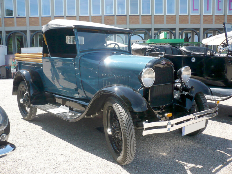 FORD Model A roadster pick-up 1929 Karlsruhe (1)