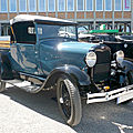 Ford model a roadster pick-up 1929