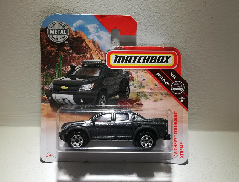 Chevrolet Colorado Xtreme de 2016 (Matchbox)
