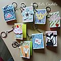 Porte-clefs mini post-it SU - 18 mai 17
