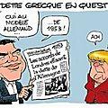 Merkel dit non au partage des dettes