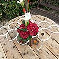 Récup et art floral