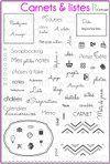 4enScrap - carnets et listes