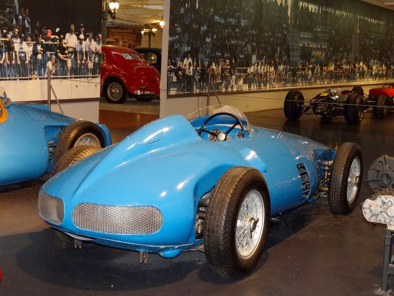 GORDINI type 32 monoplace GP 1955 Mulhouse (3)