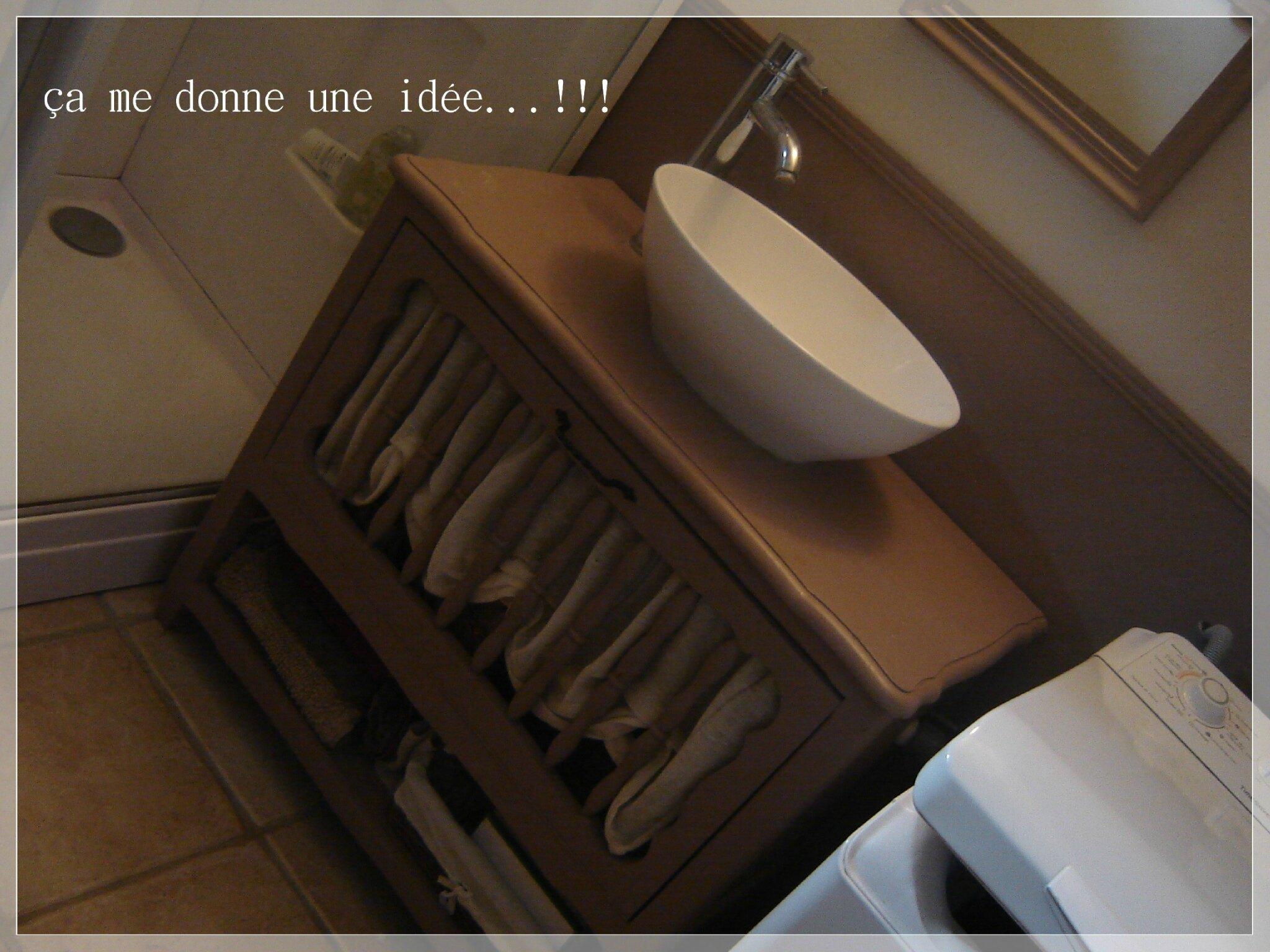 Zinc Dans Salle De Bain ~ chantier salle de bain partie iii a me donne une id e