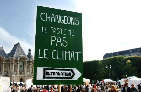 Alternatiba changement climatique
