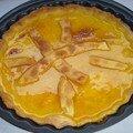 Une tarte à l'orange très originale pour une tasse de thé earl grey