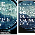 The woman in cabin 10, de ruth ware