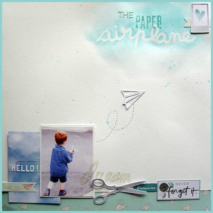 "Page / Layout ""The Paper Airplane"""