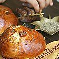 Krachels, pain briochettes de fès... variante aux dattes