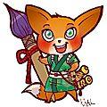 Kitsune, la petite renarde rusée de mangachamp