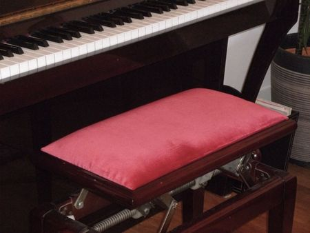 Coussin tabouret piano