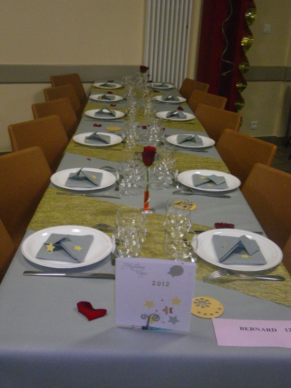 Table r veillon 2011 nat et sa boite id es - Deco table reveillon ...