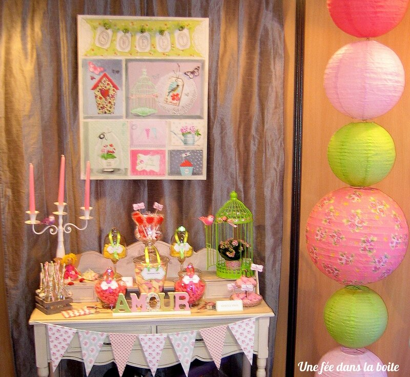 Candy-bar coloré