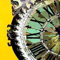 Horloge stylisée de la gare de lyon