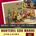 Banc public le 17 octobre à nanteuil sur marne