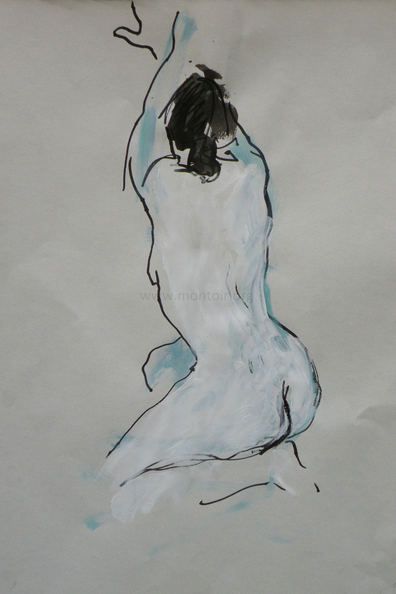 Alain Montoir Peintre de nus (3)