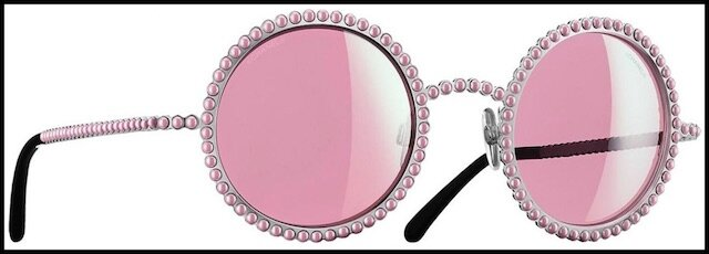 chanel lunettes solaires perles 3