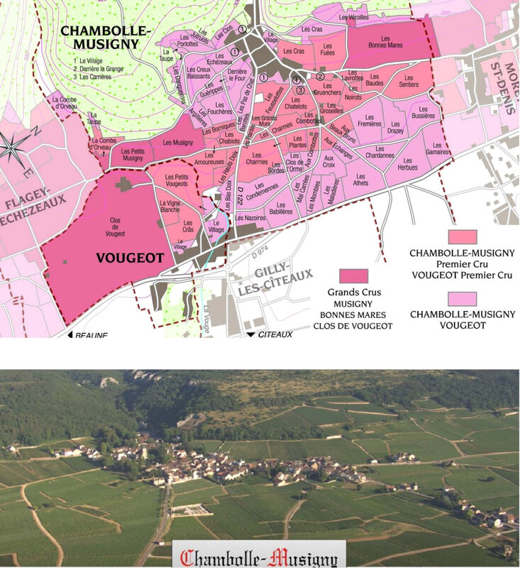 carte chambolle
