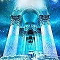 La montagne sacree du qaf et le phenix