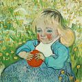 L'enfant à l'orange, vincent van gogh