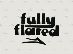 fully flared