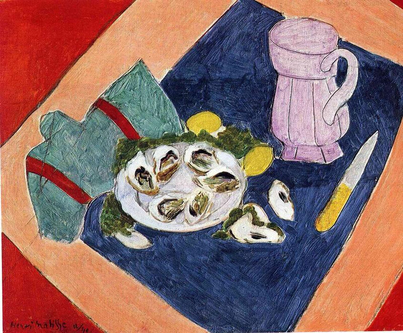 Henri-Matisse-Still-Life-with-Oysters