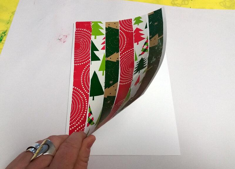 347-Noël et nouvel an-Cartes papiers cadeaux (17)