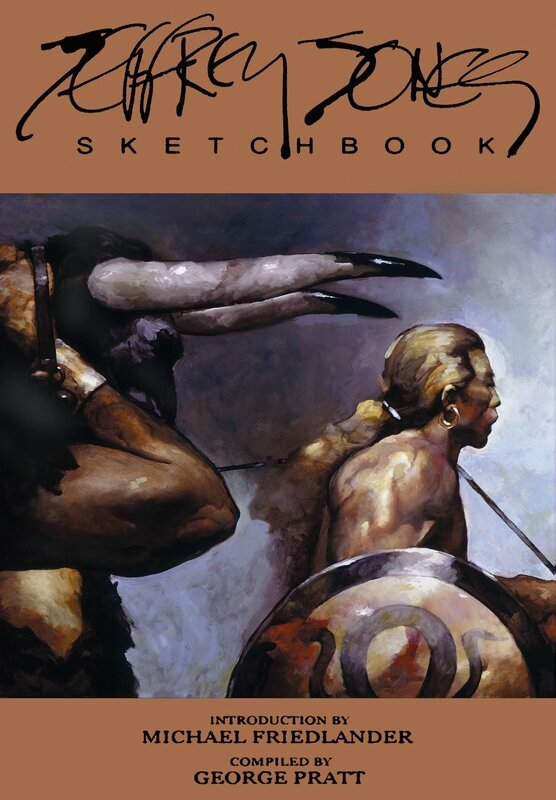 jeffrey jones sketchbook HC