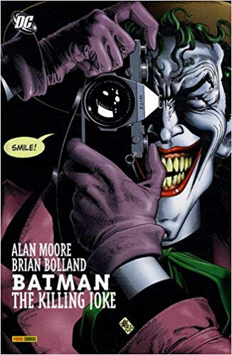 panini batman the killing joke