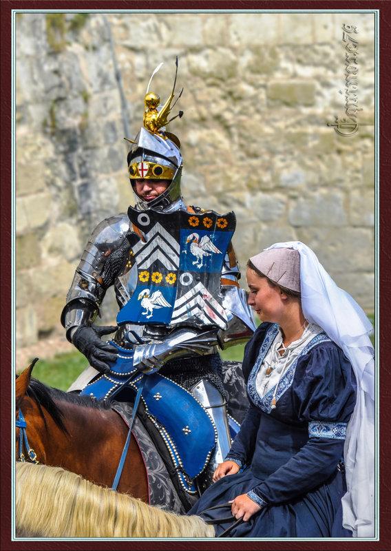 Chevalier Anglais au Château du Rivau - LE POITOU PENDANT LA GUERRE DE CENT ANS (1340-1453)