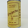 Objet pub ... boite alu guigoz (1953)