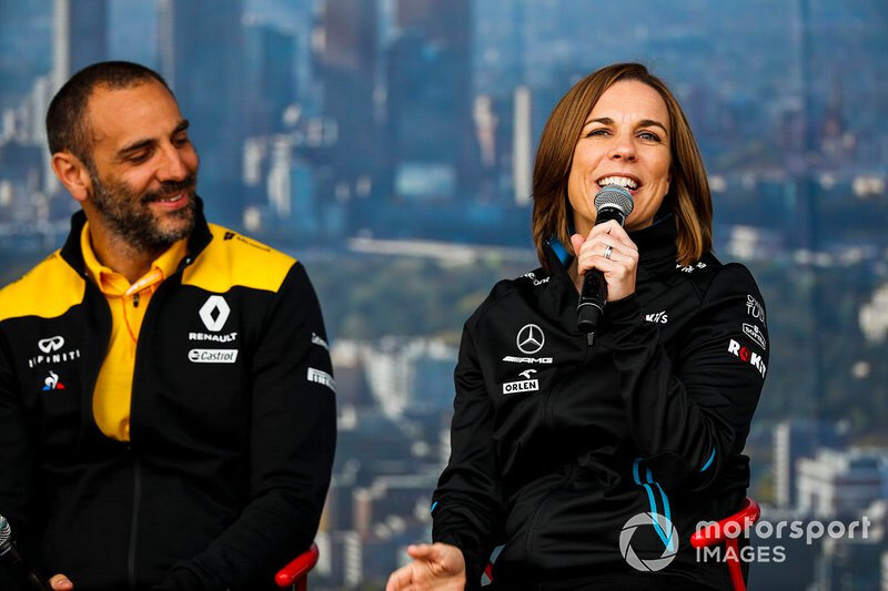 cyril abitboul and claire williams 1