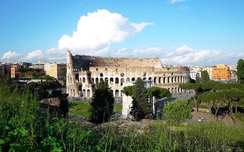 rome vue colisée 2