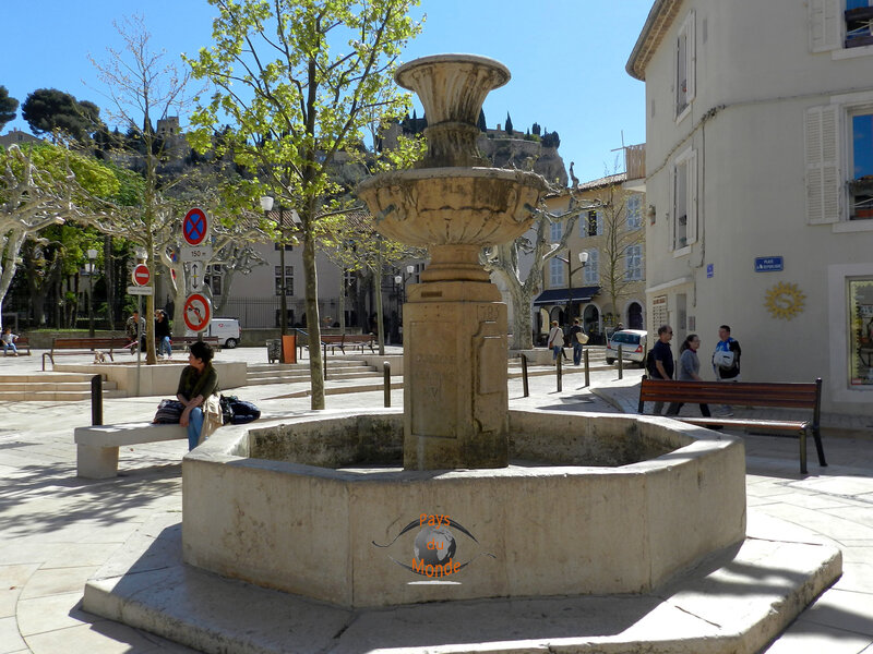 Fontaine des quatre nations