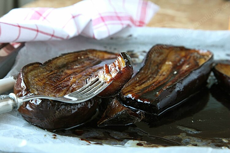 aubergine chicoree 002 LE MIAM MIAM BLOG