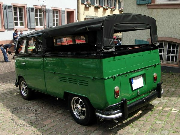vw combi split pickup 1950 1967 4