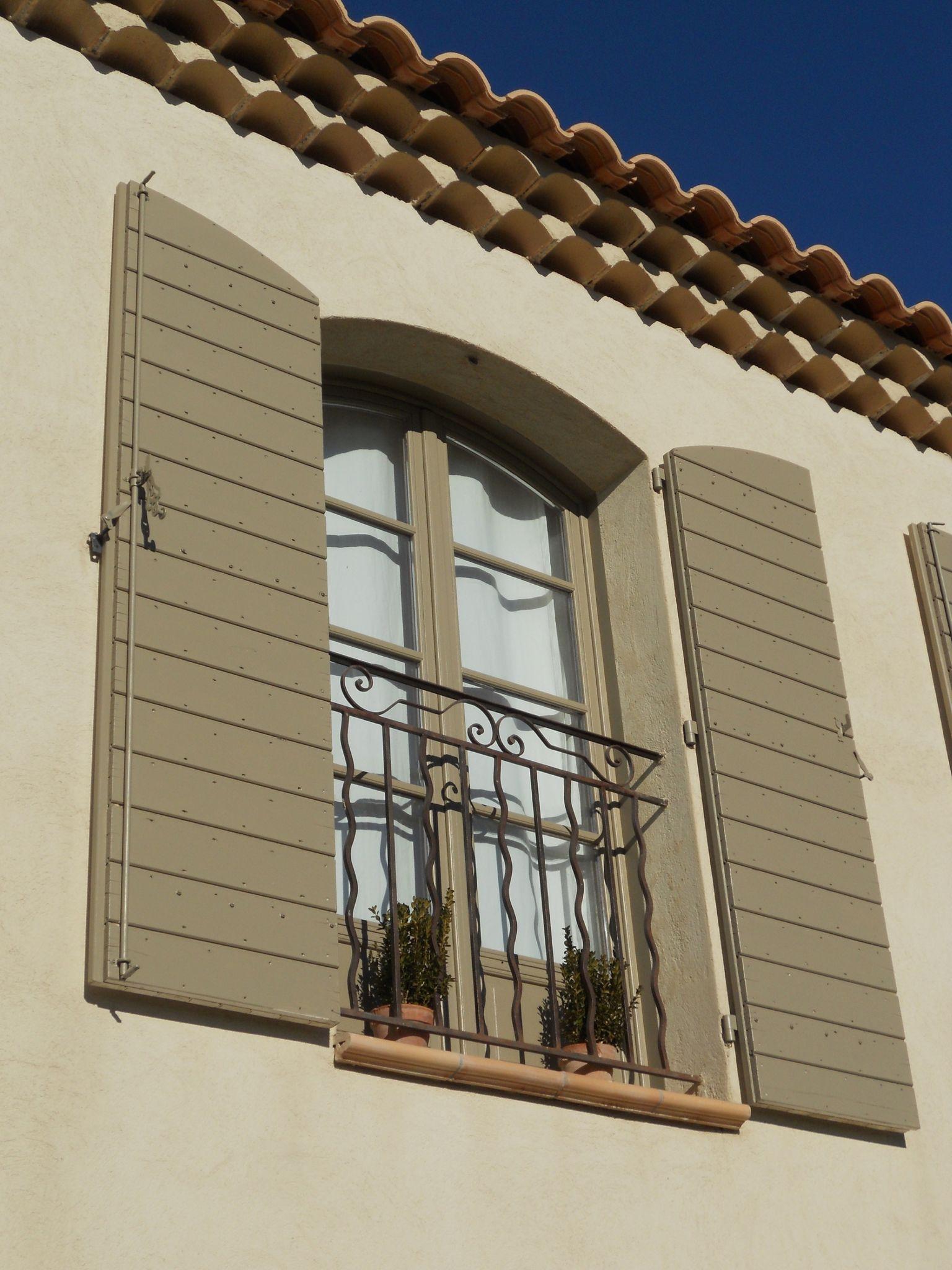 Couleur Volet En Provence home : devant-derrière - le mas tourterelle