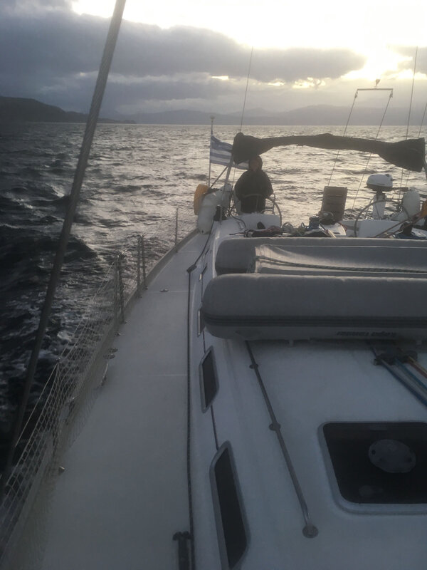 En route vers Porto Germano, peu après Ak Melangavi, 221219