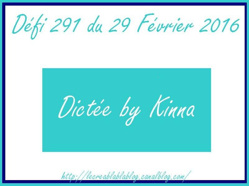 défi 291