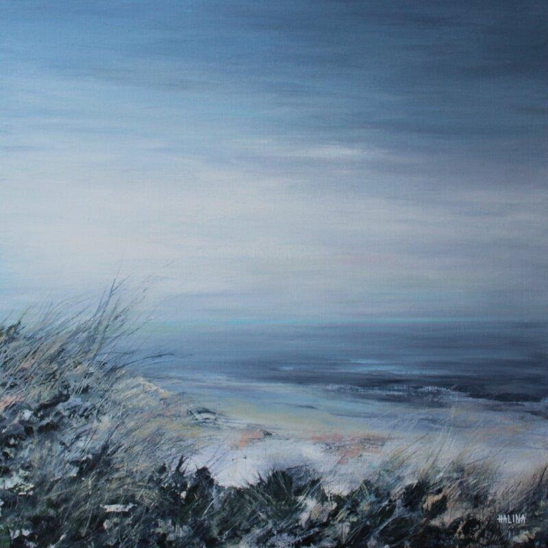 Dunes Huile sur Toile (80 x 80)