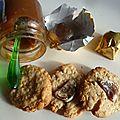 Cookie aux marrons glacés (et sans oeufs oué ma gueule)