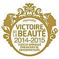 Les victoires de la beauté 2014-2015