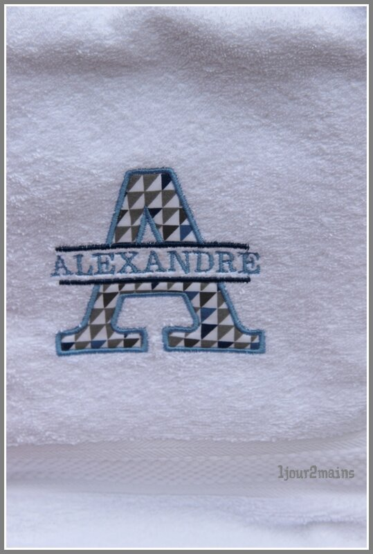 serviette Alex
