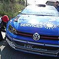 71e rally lyon chabonnieres n°2 3em vw polo 3em r5