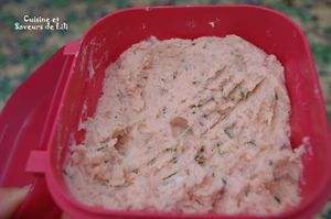 rillettes saumon