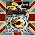 Scones (avec buttermilk)