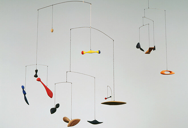 Calder constellation-mobile-1943