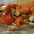 Gratin de courgettes et tomates à la ricotta