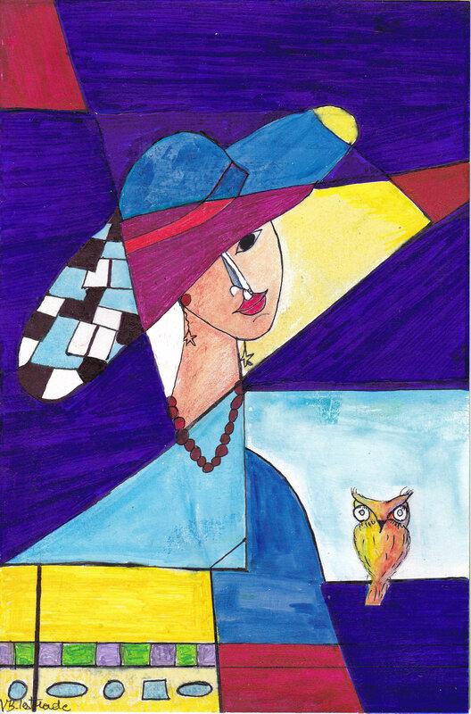 portrait cubisme